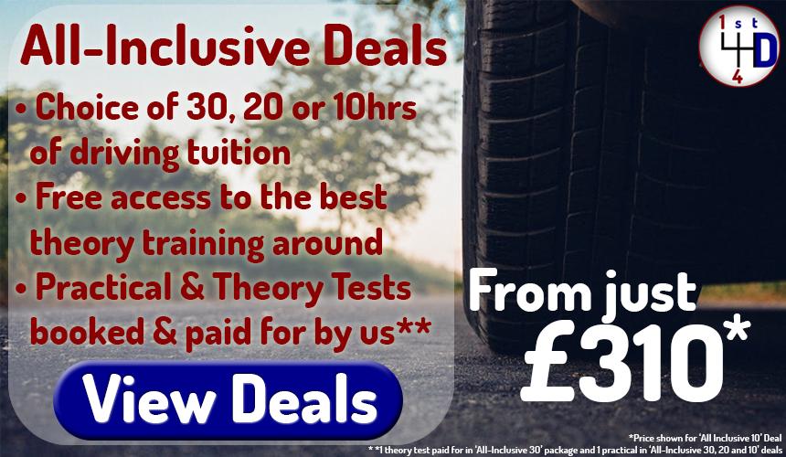 image for Driving lessons Plymouth Bodmin Callington Saltash Launceston Liskeard all-inclusive deals
