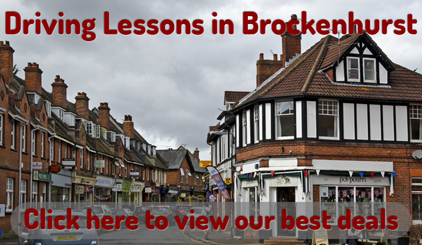 driving lessons in brockenhurst