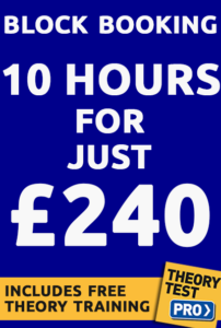 Driving lesson prices 240