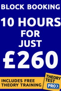 Driving lesson prices 260