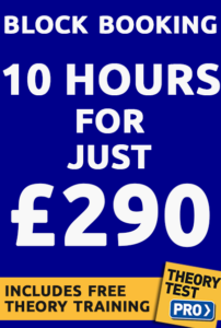 Driving lesson prices 290