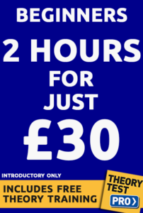 Driving lesson prices 30