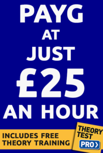 driving lesson prices 25