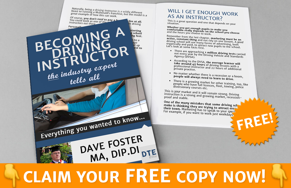Become a driving instructor book