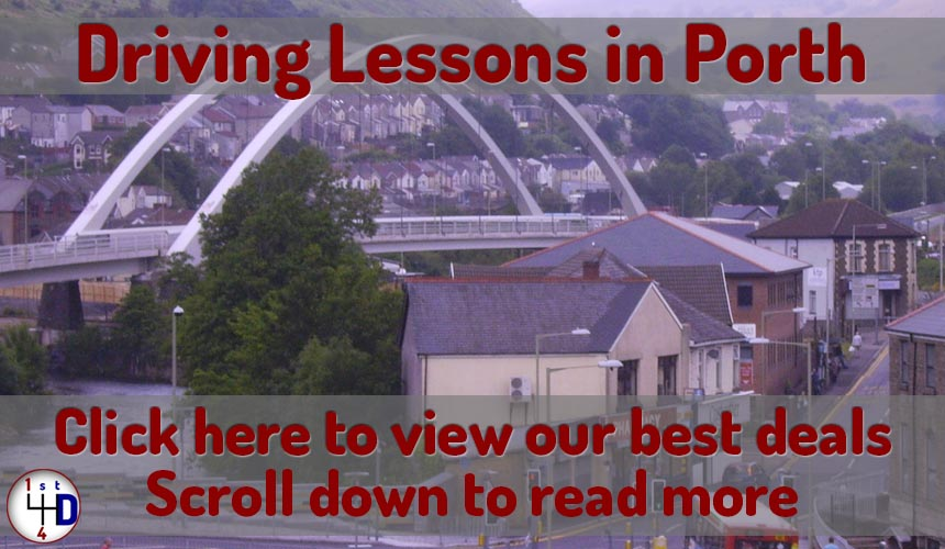 driving lessons in Porth