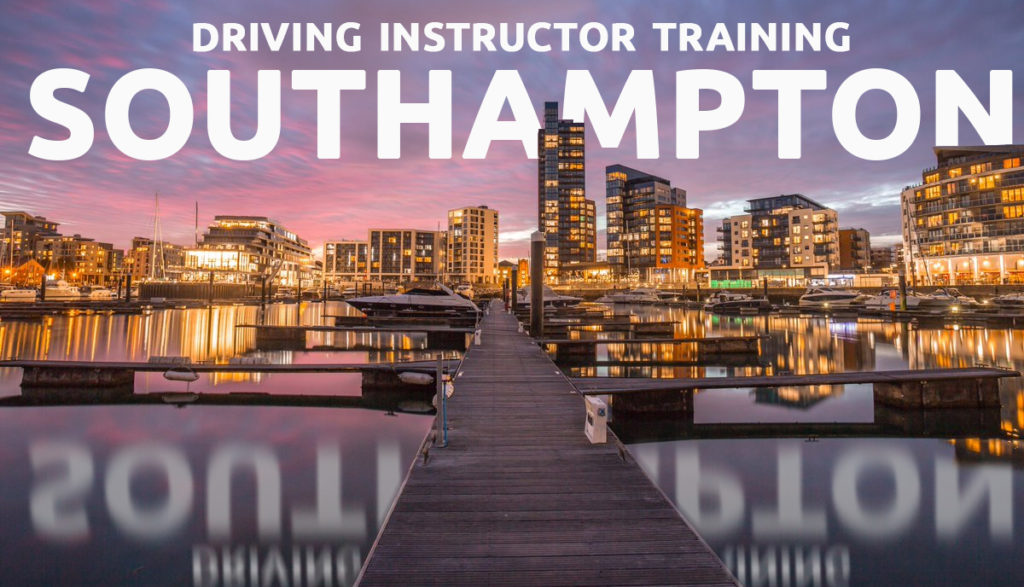 driving instructor training southampton
