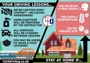 driving lessons coronavirus