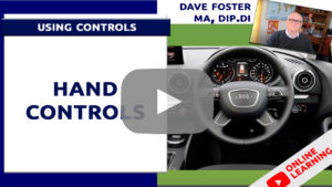 driving lessons hand controls